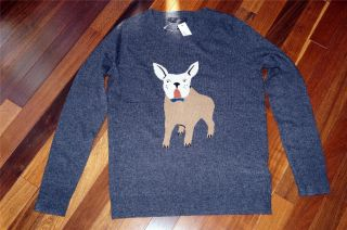 NWT J Crew Frenchie Sweater cardigan Size XS Gray Wool Cashmere Sold