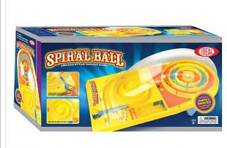 SPIRAL BALL Arcade Target Game Ideal Toys Table top Fun NEW N BOX