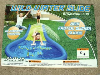 AVIVA WILD WATER SLIDE Fun For KIDS Summer time Pools Swimming