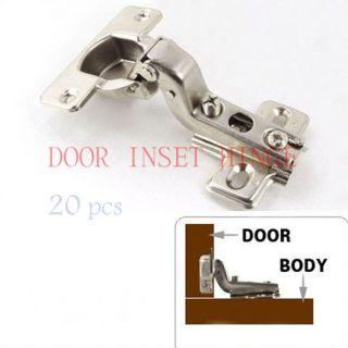 Kitchen Furniture Hardware Door Inset Cabinet Hinges ★ 20 X