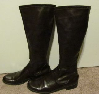 Franco Sarto Womens Brown Tall Riding Boots Sz 9W