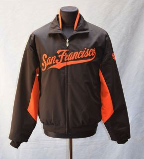 Authentic Majestic San Francisco Giants Jacket Size M
