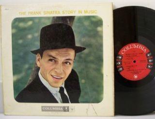 Frank Sinatra The Story in Music Vinyl LP 2 Record Set