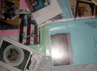 Mixed Lot of 17 Tole Decorative Painting Pattern Packets