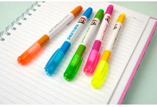 Paul Frank Julius 5 colors Fluorescent Highlighter Pens Set_Text Under
