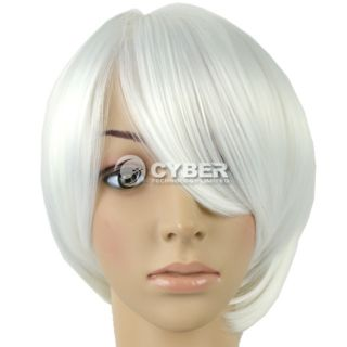 Fashion Short Hot Color Straight Bob Style Wig Cosplay Party Synthetic