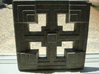 Frank Lloyd Wright Storer Residence Textile Block