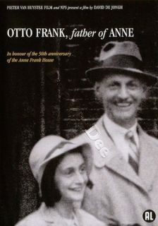 Otto Frank Father of Anne New PAL NTSC Arthouse DVD