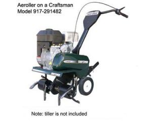 Core Plug Lawn Aerator Attachment for Front Tine Garden Tiller