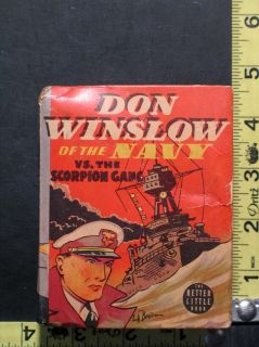 Winslow of the Navy Whitman Big Little Book 1419 by Lt. Comdr. Frank