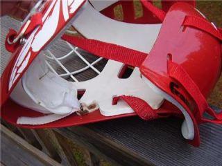 Frankline NHL DETROIT RED WINGS Street Hockey GOALIE MASK HELMET