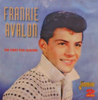 Frankie Avalon The First Five Albums 2CD Set Jasmine