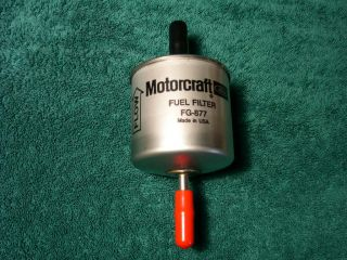 10 in Line Motorcraft Fuel Filter Bio vegi Diesel 3 8