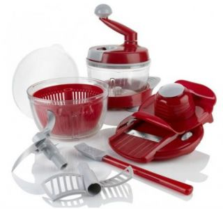 CelCius MultiPrep Queen Food Processor Chops, Slices, Dices, Spins and