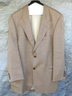 Mens Hugo Boss Galilei Wool Cotton Formal Sport Coat Jacket Blazer 44T