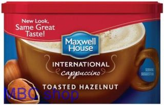 Maxwell House Instant Coffee International Café Style Powder Flavor