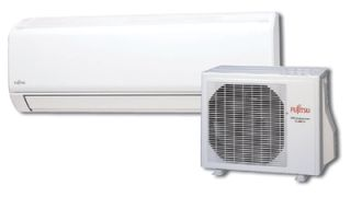 Fujitsu 24RLXS 2 Ton Ductless Mini Split Heat Pump Heating Air