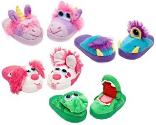 Pink Puppy Slippers Kids as Seen on TV Children Youth Shoes