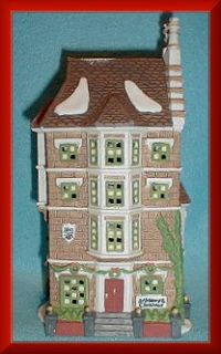 Nephew Freds Flat NEW Department Dept. 56 Dickens Village D56 DV