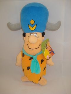 Fred Flintstone Plush Water Buffalo Hat 8p37 Hanna Barbera Stuffed