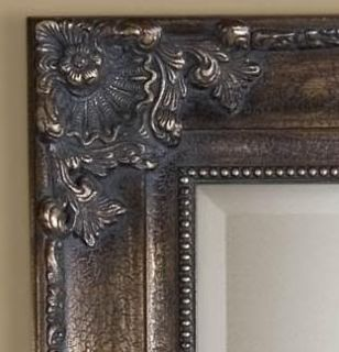 XL Tuscan Ornate Full 75 Length Bronze Wall Floor Mirror Extra Large