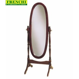 Heirloom Cherry Full Length Tilting Dressing Bedroom Cheval Mirror