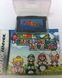 New1 Super Mario ADVANCE GAMEBOY ADVANCE SP DS GBA GAME BOY GAMES