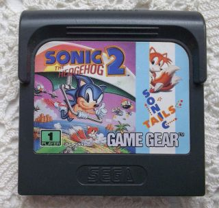 Sonic The Hedgehog 2 and Tails Game Gear