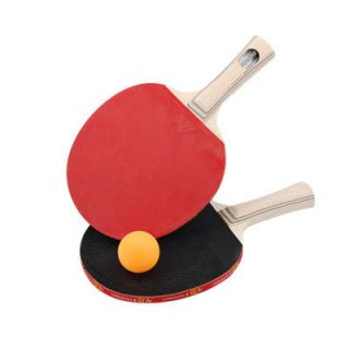 Sports Ping Pong Paddle Table Tennis Racket Balls Set