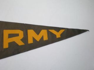 Vintage Felt Pennant Army Go Get Em Mule West Point Military Academy