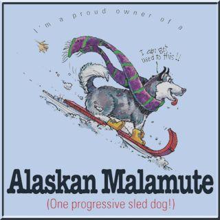 Alaskan Malamute Dog Breed Funny T Shirt s M L XL 2X 3X 4X 5X