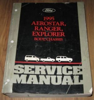 1995 Ford Aerostar Ranger Body Chassis Service Manual