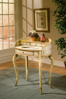 COUNTRY CHIC STYLE DECOR PAINTED WRITING DESK OFFICE FURNITURE NEW