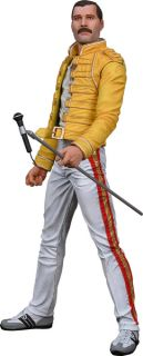 Queen Freddie Mercury RARE Collectable Figure with Microphone and