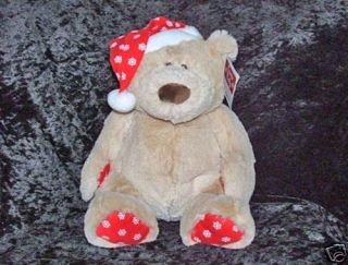 Christmas Baby Ganz Santa Baby Teddy Bear HX10727 New