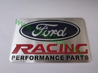 Ford Racing Performance Parts Emblem Badge Sticker Decal 8 x 5cm