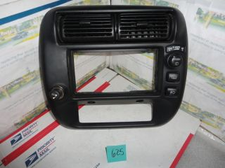 1995 2001 Ford Ranger & Explorer Dash Radio Bezel Trim Vents Climate