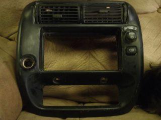 1995 2001 Ford Explorer Center Dash Radio Trim Bezel 2 WD