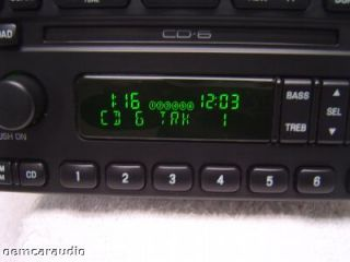 Mercury Grand Marquis Aux 6 CD Player Radio Ford Escape