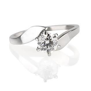 CERTIFIED SI D ROUND DIAMOND SOLITAIRE 14K WHITE GOLD RING FREE SIZING