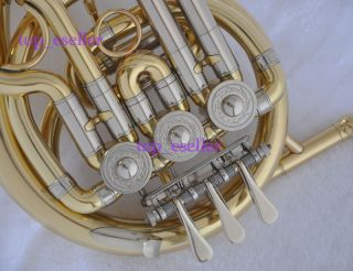 High Quality Gold BB French Horn Brass Mini Horn BB New
