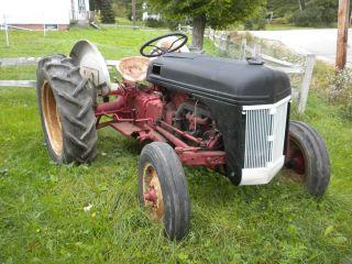 Ford Tractor 8 N Antique 1950s Mostly Restored Rebuilt Engine 12V New