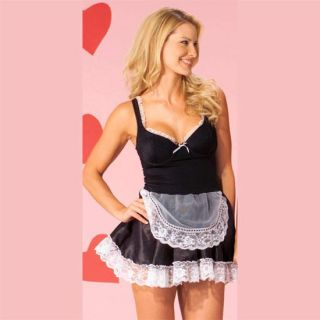 Sexy Lingerie French Maid Dress Costume Medium