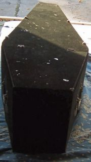 Odd Fellows Casket Coffin with Body from Freeport Illinois