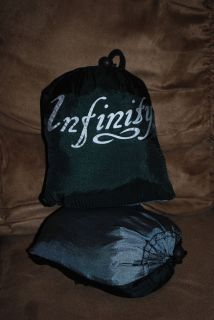 Infinity Outfitter Double Forest Green / Silver Grey Parachute Nylon