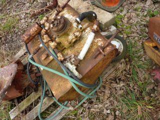 Gravely Garden Tractor Sprayer Attachment