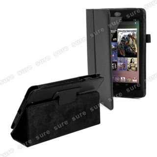 Funda Case Soporte SMART COVER Negro Para Google Nexus 7 Tablet