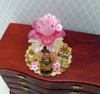 EXQUISITE ~ FRENCH PERFUME & SOAP SHOP DISPLAY~ DOLLS HOUSE INTERIOR