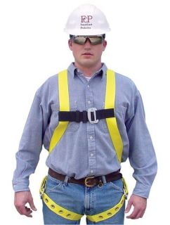 New French Creek 651 Full Body Harness with Grommet Tongue Buckle Leg