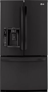 LG 25 0 CU ft French Door Refrigerator Water Ice Dispenser LFX25976SB